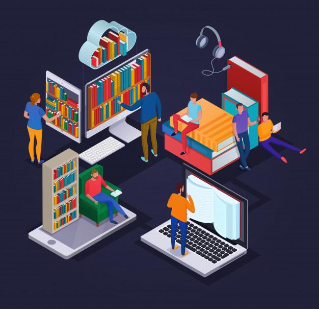 Dostop do e-knjig (branje na daljavo)