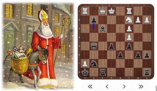 Miklavžev spletni šahovski turnir – poročilo