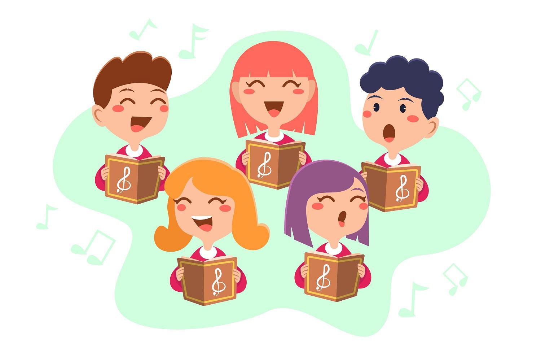 Posnetki mladinskega pevskega zbora