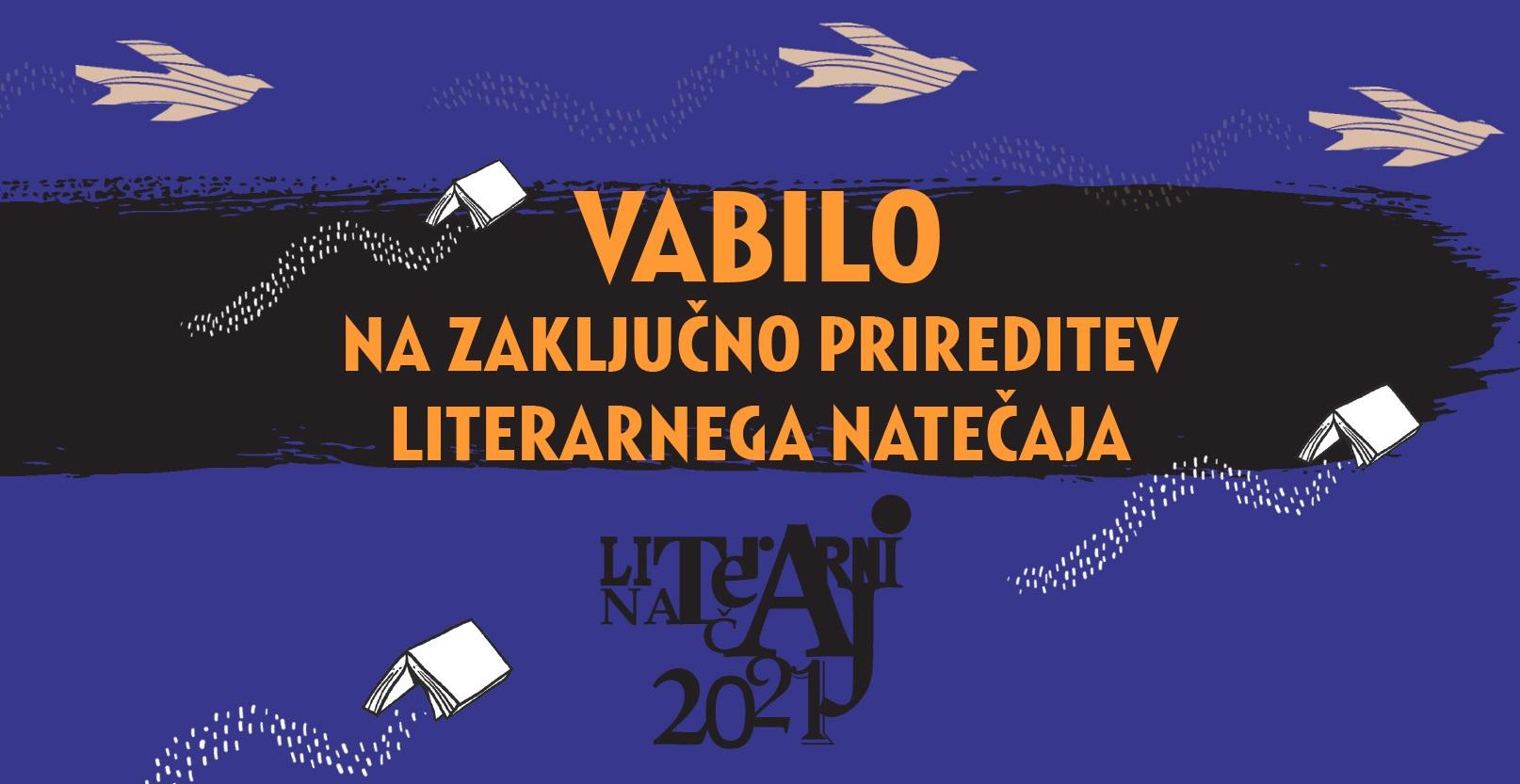 Natečaj Bodi pisatelj/pisateljica 2021