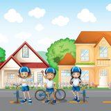 Urnik vožnje s kolesom (2. teden)