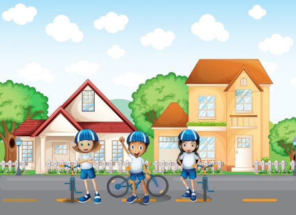 Urnik vožnje s kolesom 6. razred (3. teden)